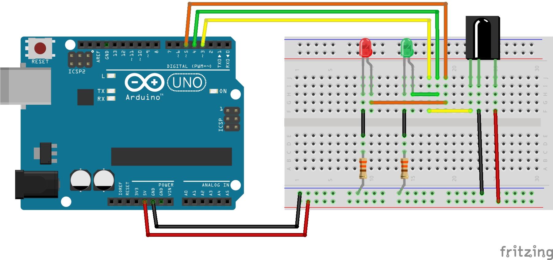 удаленное управление телевизором arduino