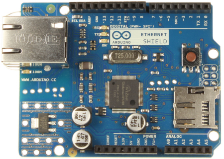 Arduino Ethernet Shield R3 Front