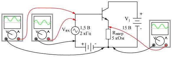 Коэффициент усиления по напряжению каскада с общим коллектором равен 1