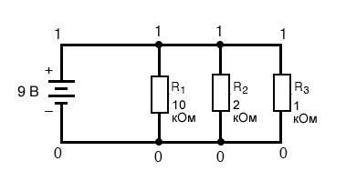 Рисунок 8 Изменение номеров узлов для SPICE