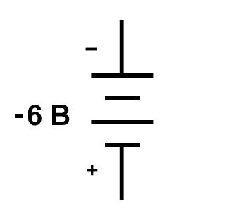 Рисунок 2 Совершенно нестандартное обозначение полярности