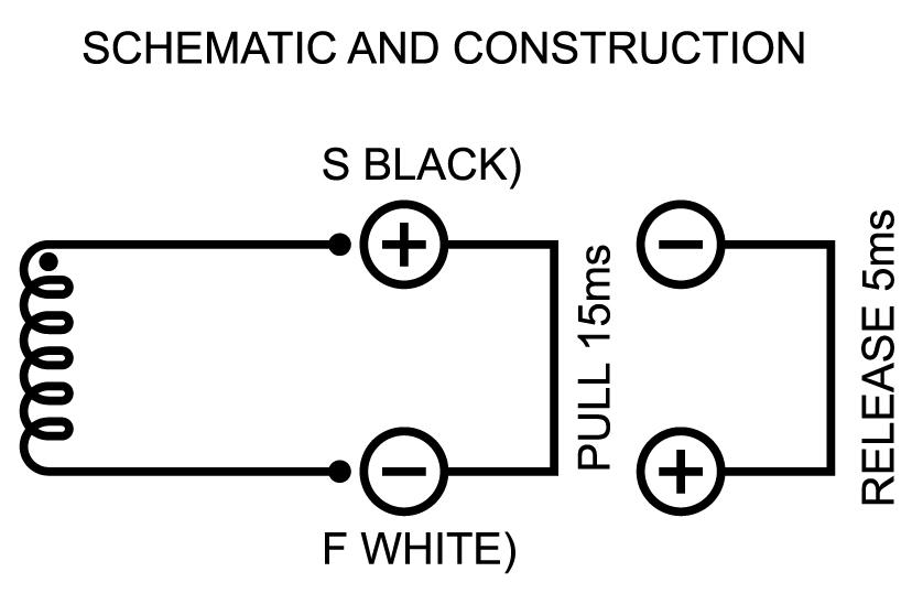 Рисунок 2 Схема из технического описания соленоида