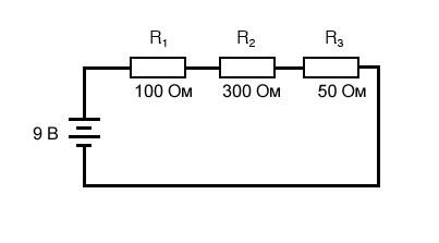 Рисунок 1 Простая последовательная схема