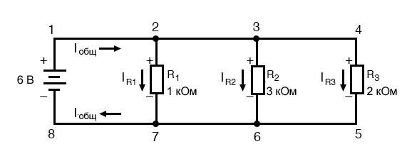 Рисунок 1 Пример параллельной схемы