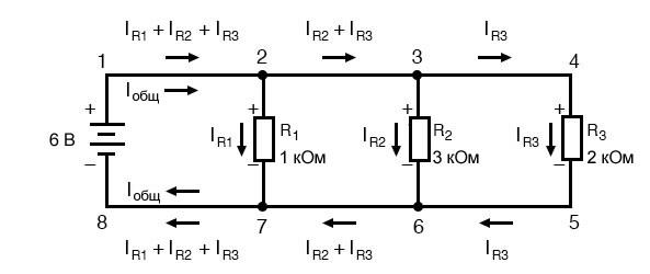 Рисунок 3 Пример параллельной схемы